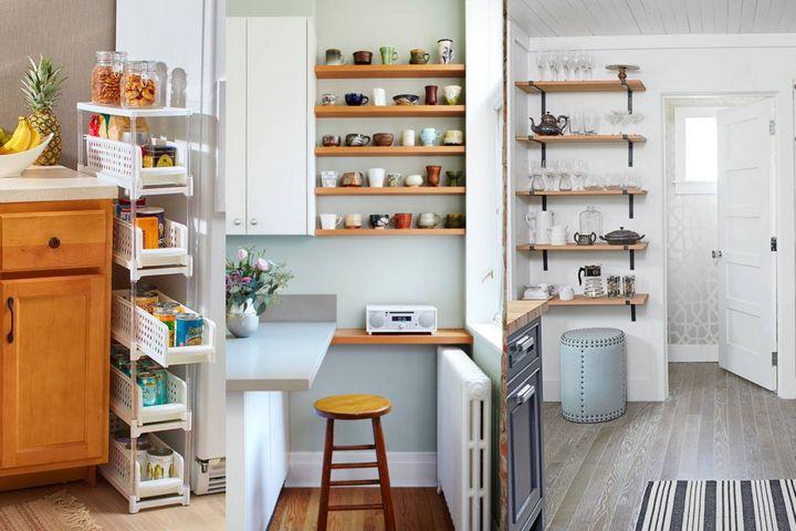 Дополнительное хранение на кухне