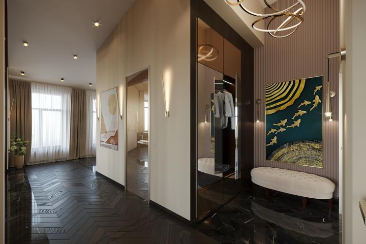 Единый стиль оформления квартиры