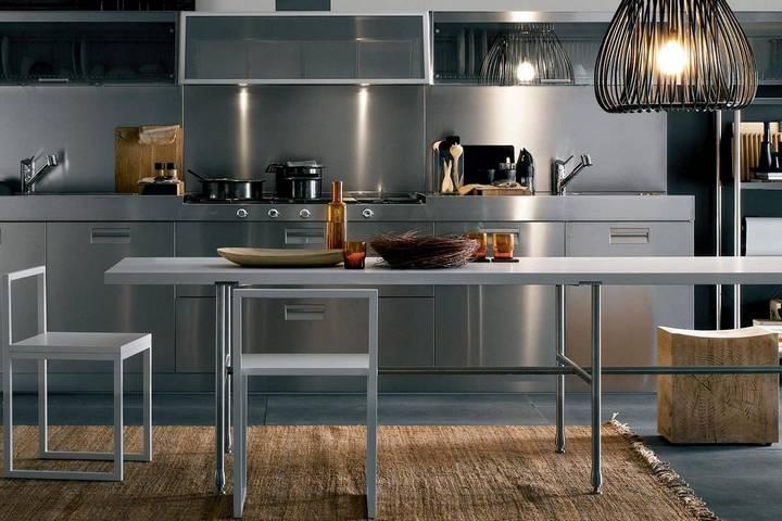 Металлический декор кухонного гарнитура