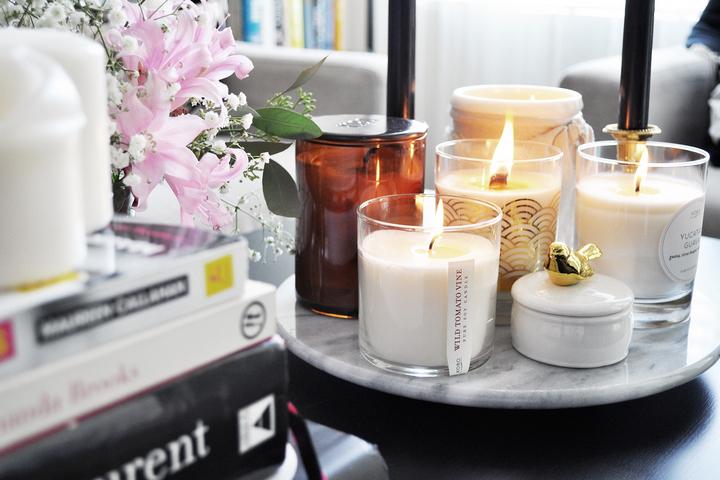 Ароматические свечи для интерьера