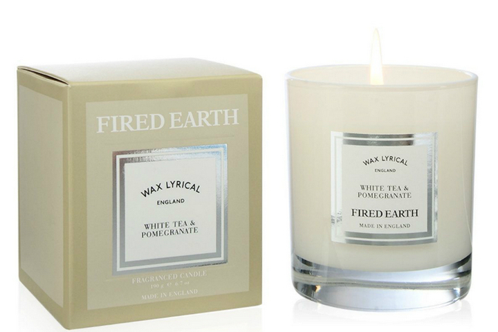 Свеча с ароматом ириса