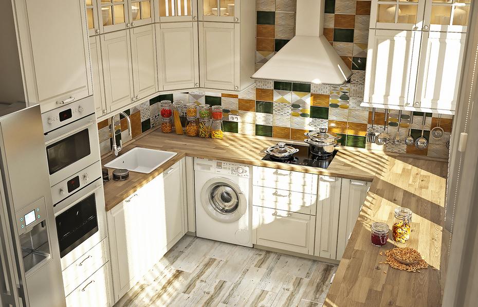 Современная кухня со свежими идеями