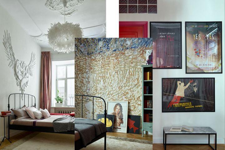 Спальня и декоративные решения в квартире