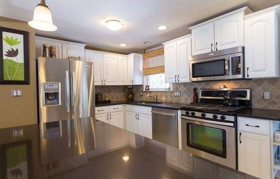 Кухня в американской квартире