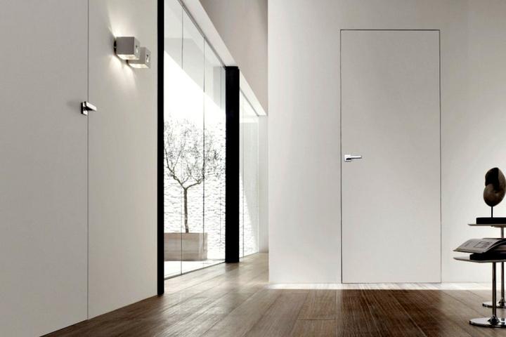 Скрытые двери без плинтусов