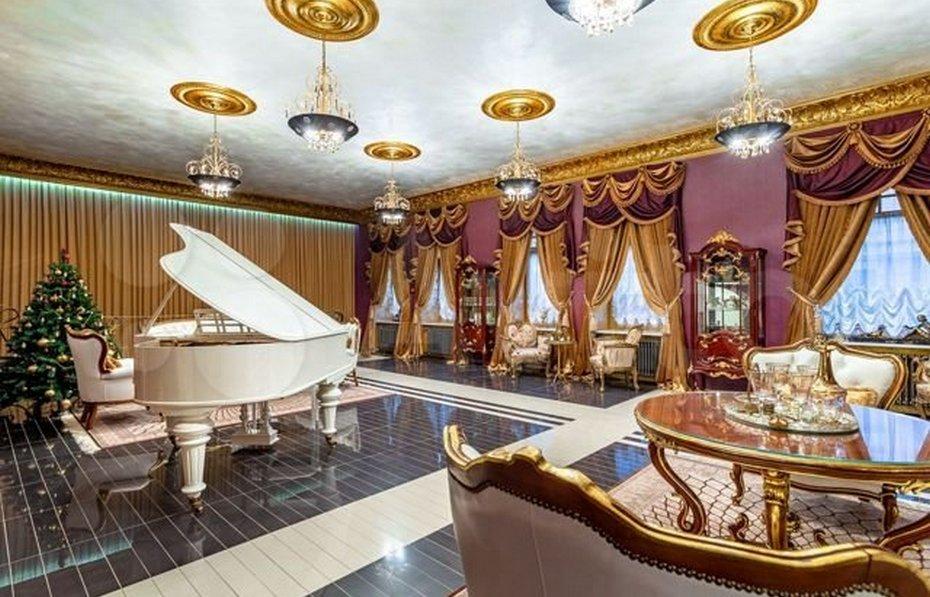 Гостиная в квартире за 750 миллионов