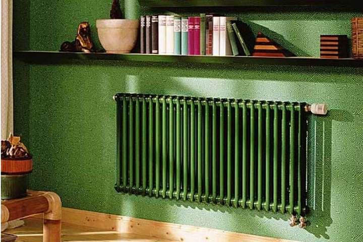 Интерьерный радиатор в цвет стены