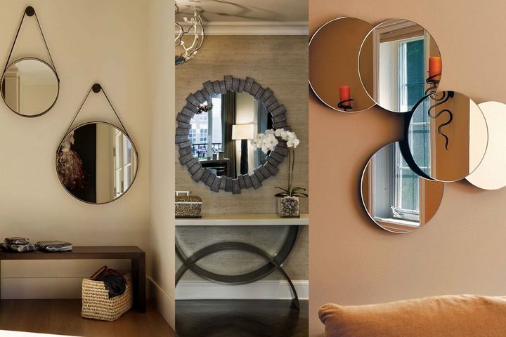 Необычные композиции из зеркал