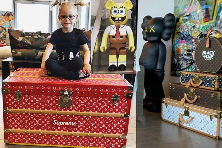 Декоративные ящики и чемоданы