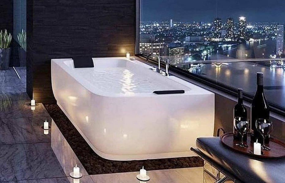 Дорогой дизайн ванной