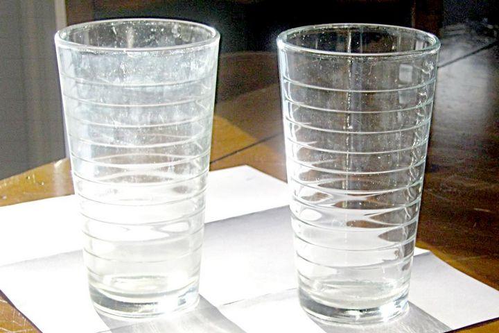 Налет на стакане