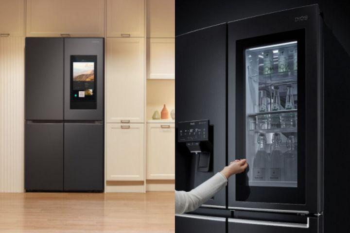 Холодильник с функцией просмотра содержимого