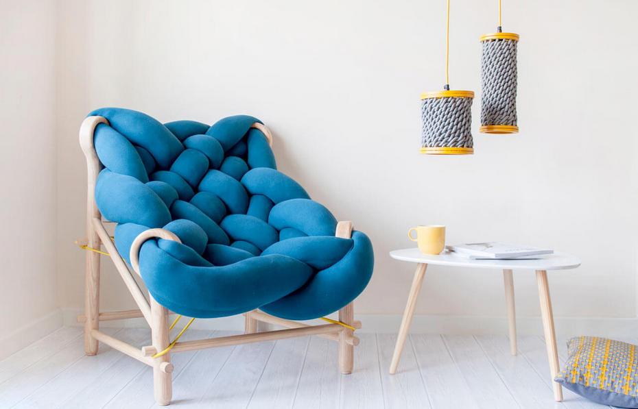 Необычный дизайн кресла