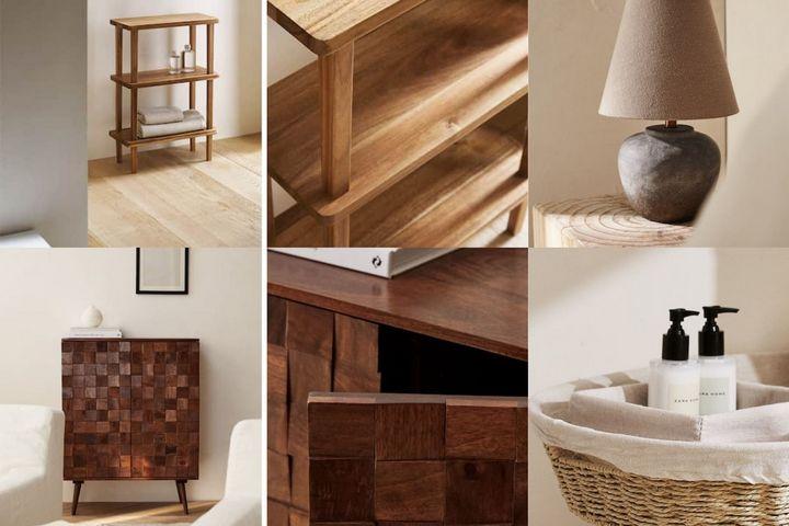 Деревянная мебель и декор Zara Home