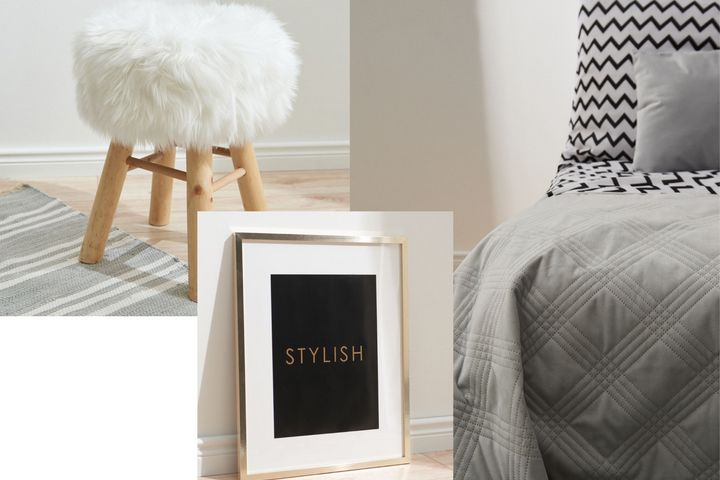 Предметы декора бренда Sinsay