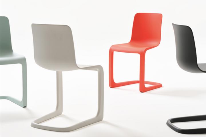 Невесомые стулья из цельного пластика