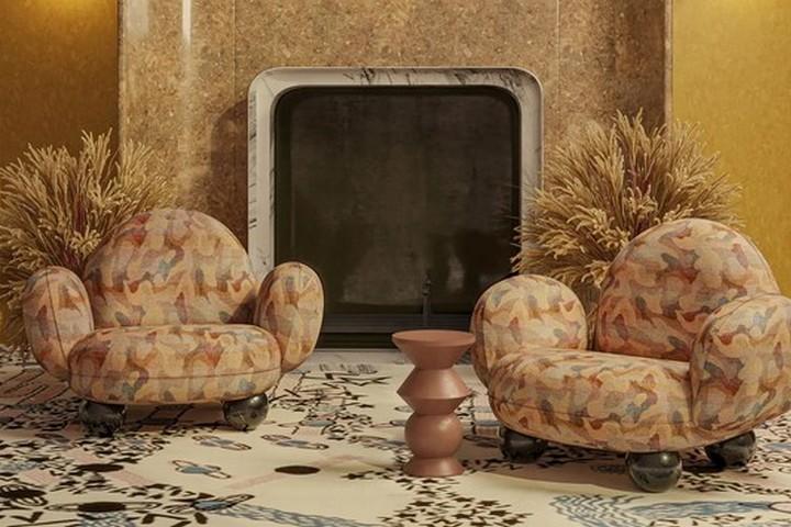 Кресла в стиле картины Дали