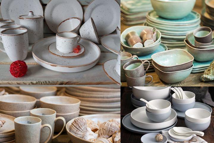 Глиняная посуда в скандинавском стиле