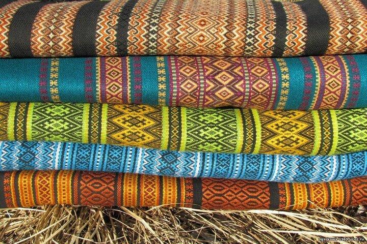 Этнические узоры на тканях