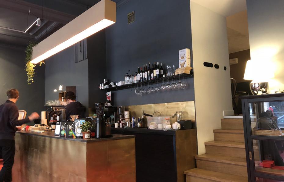 Интерьер кафе Civil