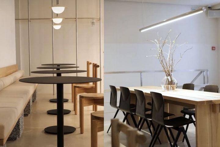 Скандинавские мотивы в интерьере кафе
