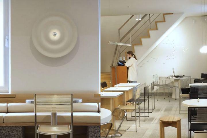 Декор интерьера с помощью потолочных розеток и натуральных элементов