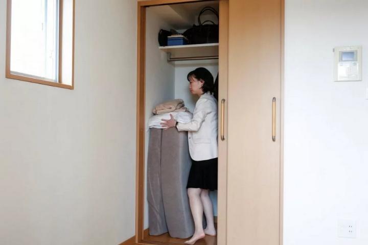 Система хранения в японской квартире