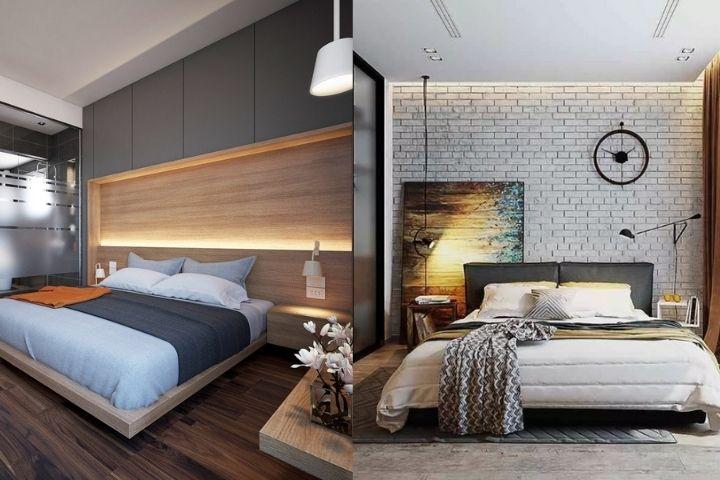 Спальни для кинестетика в разном стиле