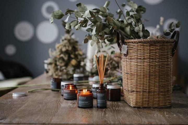 Декор и ароматические предметы для кинестетика