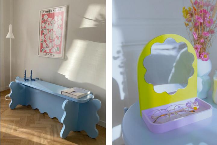 Характерная мебель и декор в новом стиле