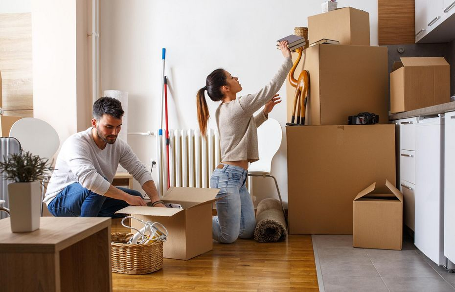 Переезд из квартиры