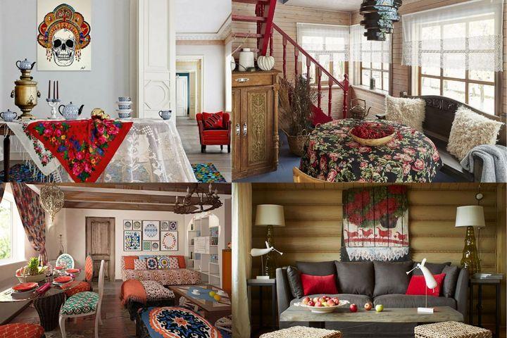 Традиционные русские детали и текстиль