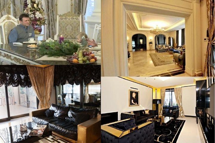 Дом Стаса Михайлова и его семьи