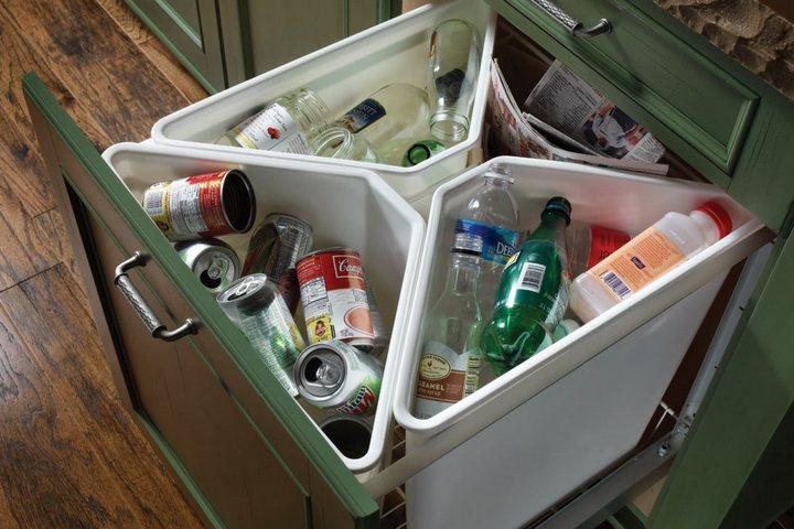 Сортировка мусора в домашних условиях