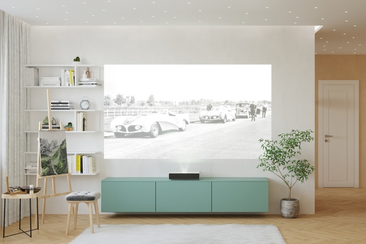 ТВ-зона с творческим уголком