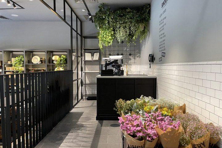 Отдел магазина с сухоцветами