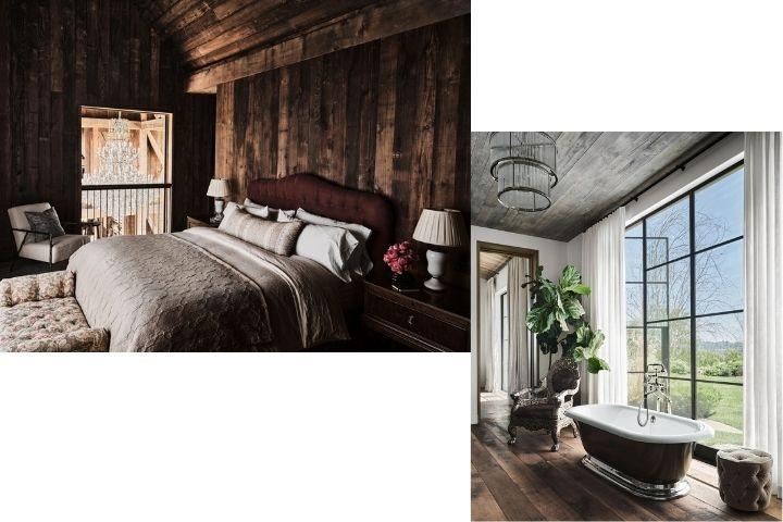 Спальня и мастер ванная