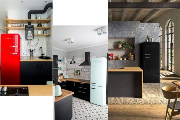 Холодильники в стиле Лофт