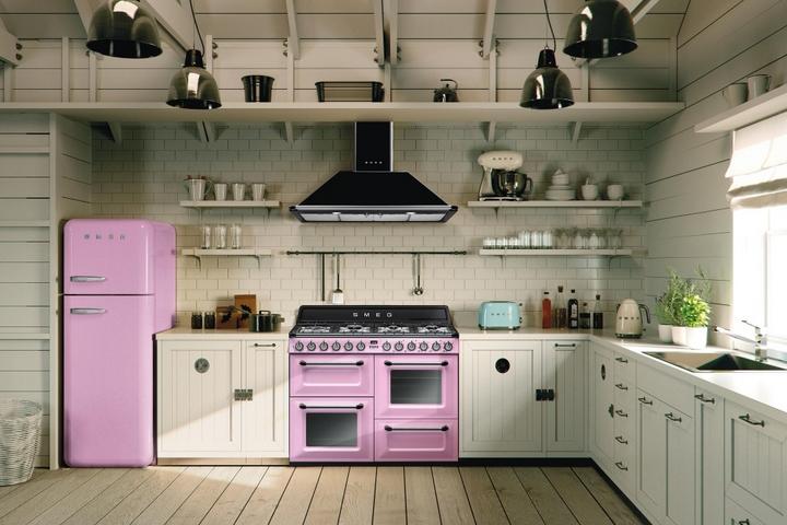Розовая группа бытовой техники