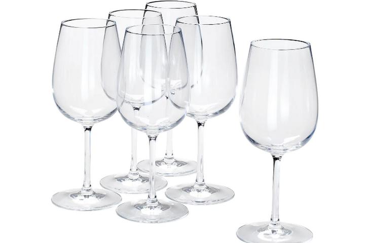 Набор из 6 классических винных бокалов