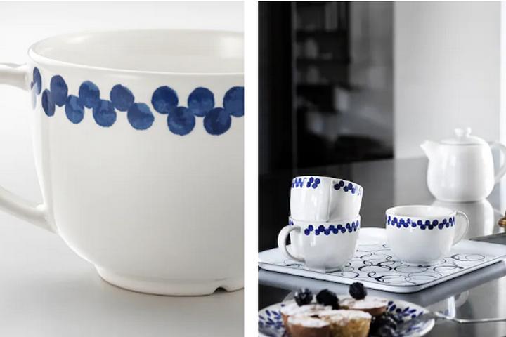 Чайная кружка в средиземноморском стиле