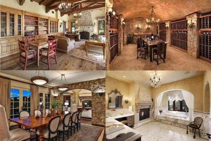 Общие и приватные помещения дома Гарри и Меган