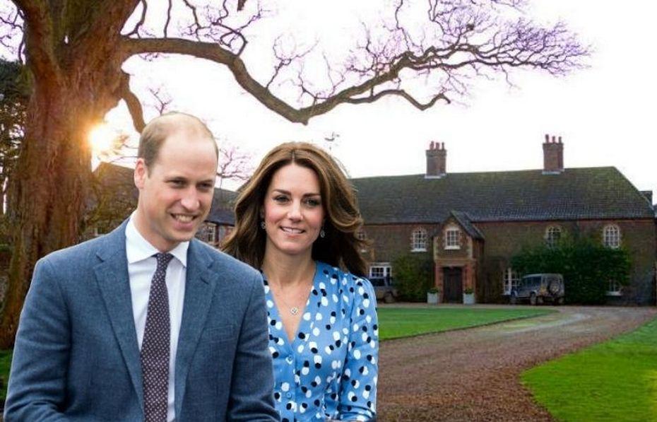 Кейт и Уильям и их деревенский дом