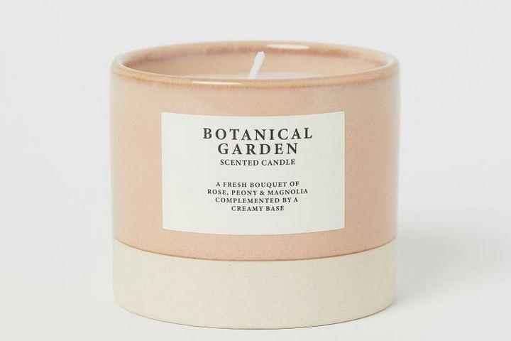 Свеча с комплексным ароматом цветов