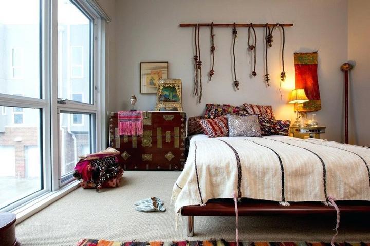 Текстильные панно на стенах и на поверхностях