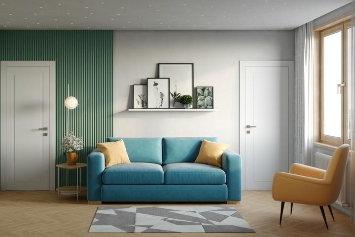 Дизайн гостиной по проекту Ремэлль