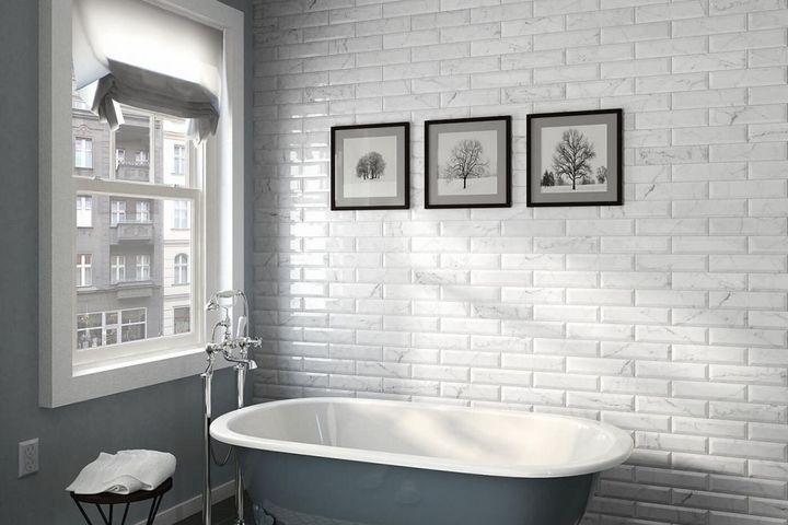 Классическая укладка плитки в ванной