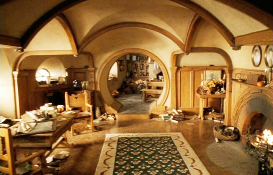 Дом Бильбо и Фродо Беггинс
