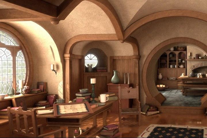 Кабинет в большом помещении