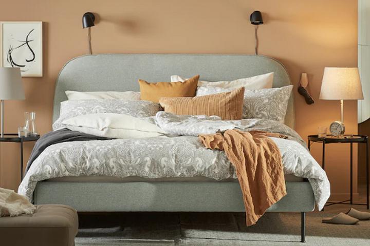 Винтажный дизайн кровати